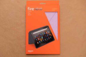 Fire HD 10 純正カバー 外箱