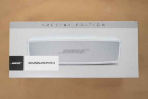 Bose SoundLink Mini II SE パッケージ正面
