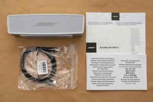 Bose SoundLink Mini II SE セット内容