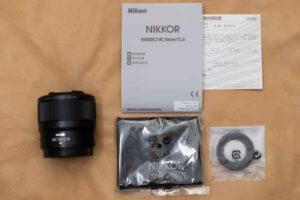 「NIKKOR Z MC 50mm f/2.8」セット内容