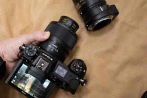 「NIKKOR Z MC 50mm f/2.8」をNikon Z 6に装着しての利用例