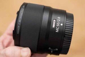 「NIKKOR Z MC 50mm f/2.8」外観