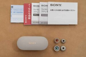 WF-1000XM4 のパッケージ内容