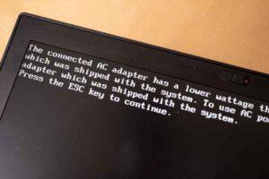Lenovo PCでのワッテージ不足ワーニング