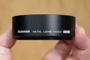HAKUBAメタルレンズフードKMH-62 印字部分