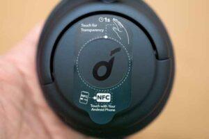 Anker Soundcore Q35のイヤーカップ
