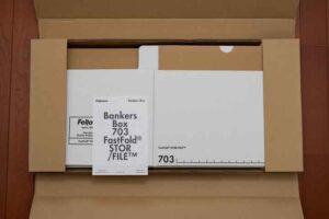 フェローズ バンカーズボックス 新703Sを開封