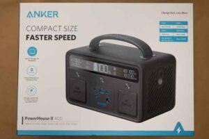 Anker PowerHouse II 400 の外箱
