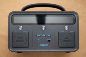 Anker PowerHouse II 400 の正面