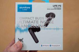 Soundcore Life P3 のパッケージ