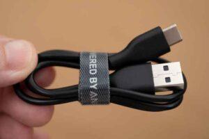 Soundcore Life P3 の付属USBケーブル