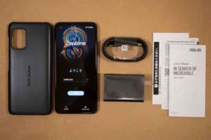 Zenfone8のセット内容