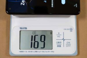 Zenfone8の重量