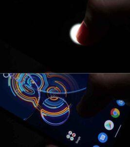 Zenfone8の指紋認証