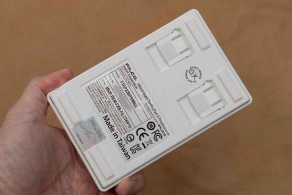 Majestouch TenKeyPad 2の背面