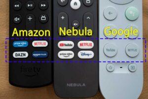 Nebula 4K Streaming Dongle リモコン比較